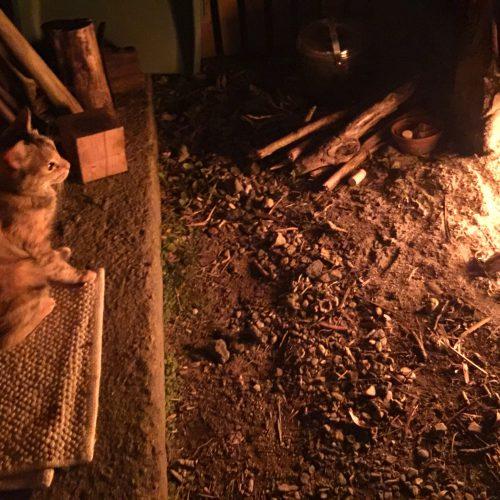 焚き火のある暮らしはいいものだ