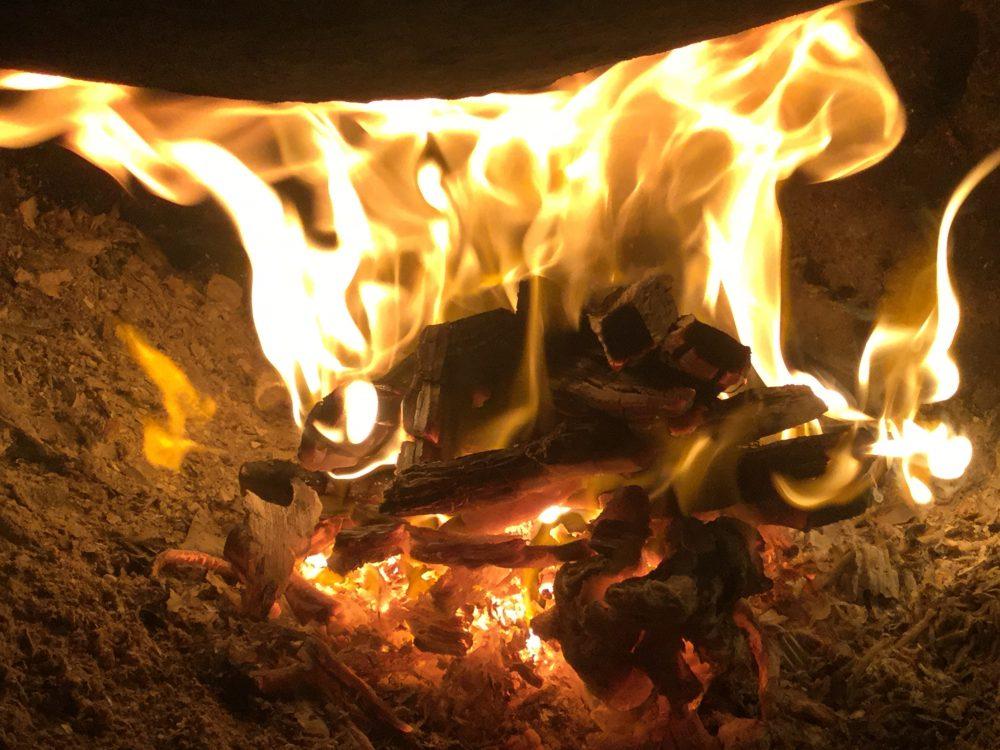 火とともに暮らす